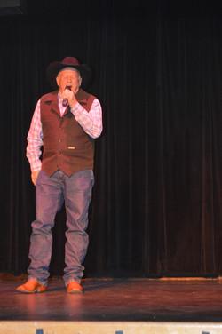 Fred singing #1