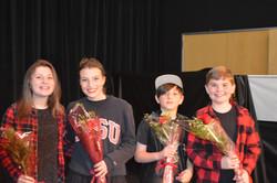 Hannah, Julia, Gavin, Shane