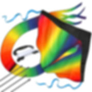 Huge Rainbow Kite For Kids - One Of The Best Selling Kites For Kids - Perfect for Outdoor Games