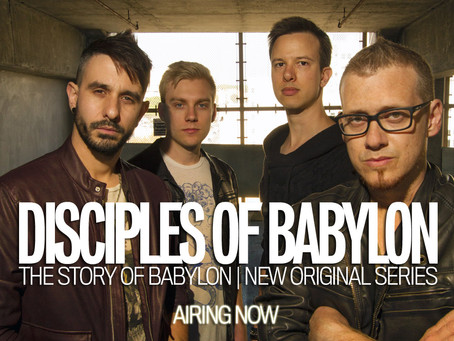 Rock Act Disciples of Babylon Readies To Debut Their New Original Video Series 'The Story of Babylon