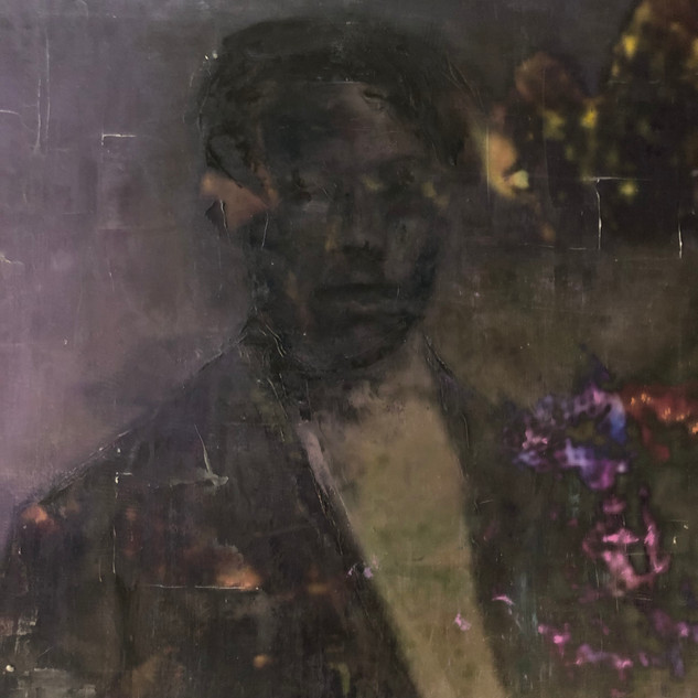 Victorian Man with Flower