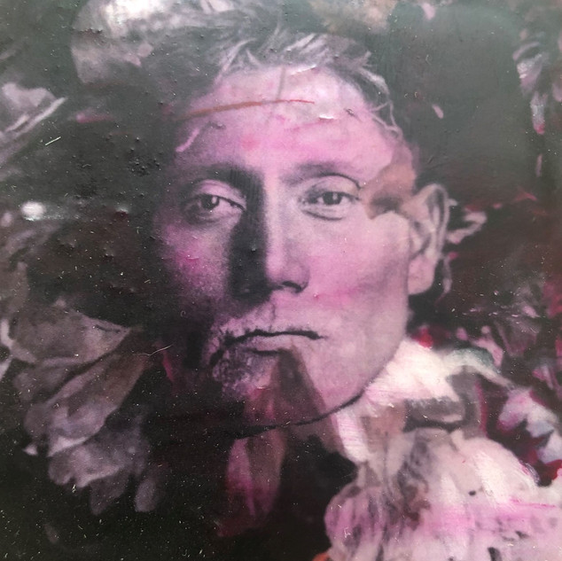 Ute Man in Pink