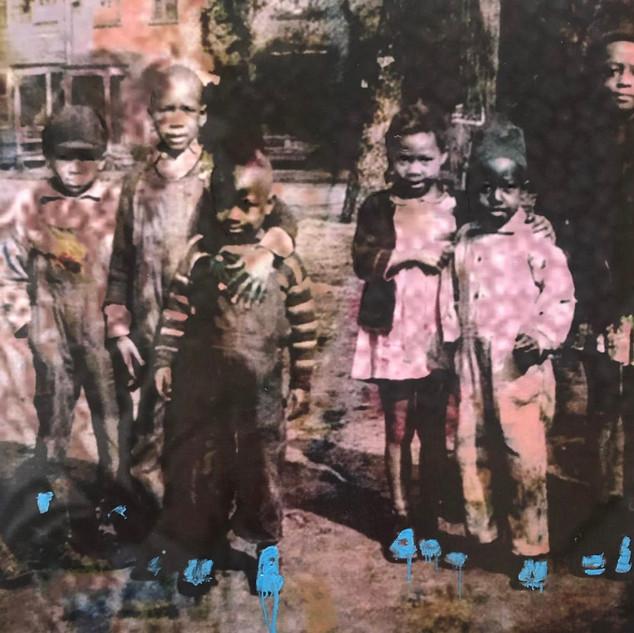 Saints Wear Blue Shoes