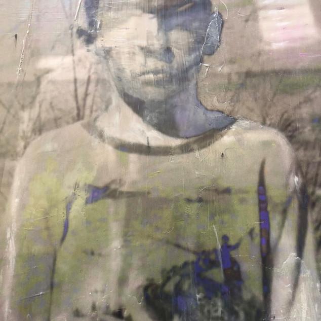 Boy on Beach detail