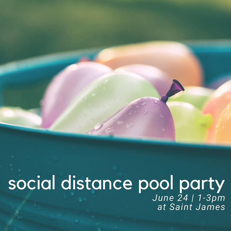 [POSTPONED] - Socially Distanced Pool Party
