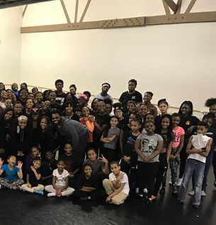 my city my dance students from the Chicago area