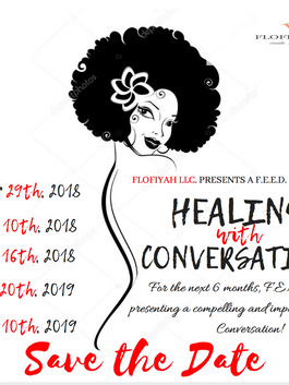 save the date flyer for old women's empowerment workshop