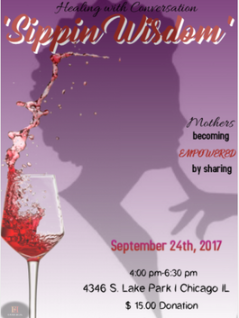 sipping wisdom flyer for old feed workshop for women