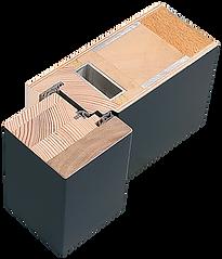 Weßler Türelement Baureihe Brillant 3 Dichtungen Streifdichtung Stahlkern UD-Wert ab 0,91