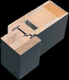 Weßler Laubengangtür Brillant Türspion digitaler Türspion Stahlkern Dichtung Sandwich bauweise