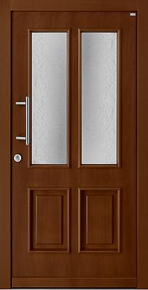Weßler HT 362 Holzoberfläche Mahagoni auf Meranti Bandseitensicherung Sicherheit RC2 Einbruchhemmend Madras Uadi Glas 3-fach MassivriegelSchloss