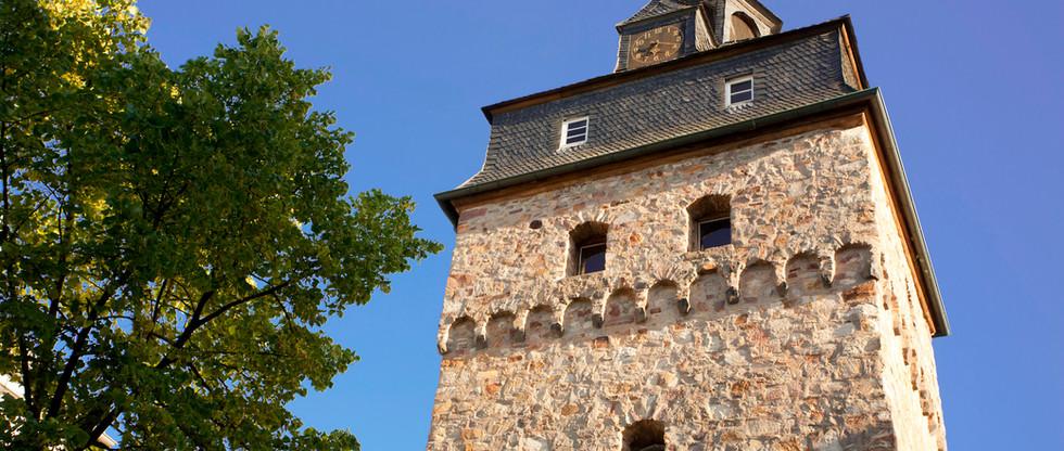 Uhrturm Dierdorf Stadtmitte