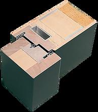 Weßler Türelement Baureihe KlimaTop guter UD-Wert ab 0,69 Streifdichtung zwei umlaufende Dichtungsebenen Stahlkern