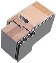 Weßler Türelement Baureihe Kontur Holz-Alu Haustür Haustüren Aluminium Stahlkern