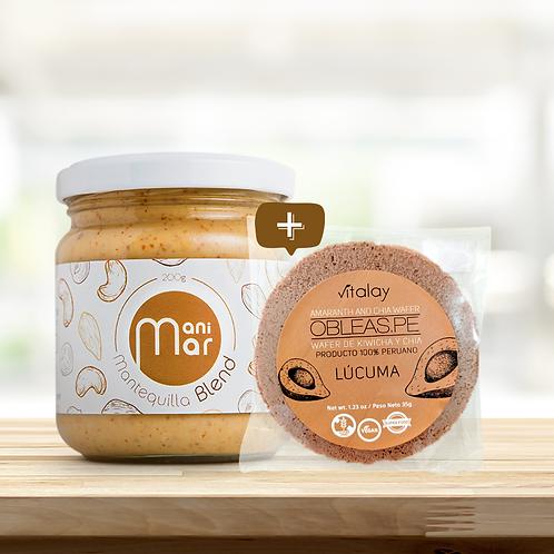 Duo Premium: Mantequilla Premium+ Obleas