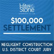 Negligent Construction - U.S. District Court Jury Verdict
