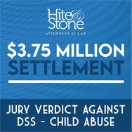 Jury Verdict Against DSS - Child Abuse