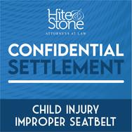 Child Injury - Improper Seatbelt