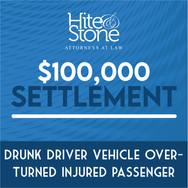 Drunk Driver Vehicle Overturned Injured Passenger