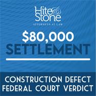 Construction Defect - Federal Court Verdict