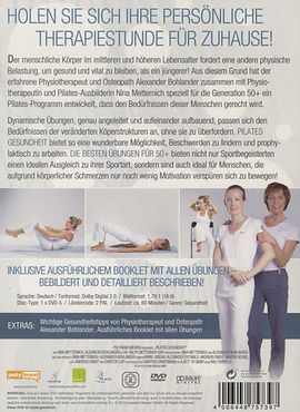 Pilates 50plus Beschreibung