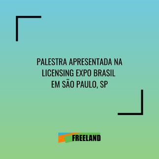 PALESTRA APRESENTADA NA LICENSING EXPO BRASIL EM SÃO PAULO, SP