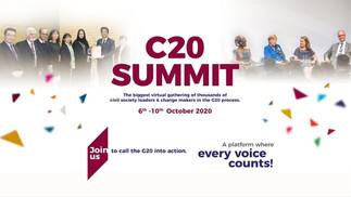 C20 SUMMIT - ARABIA SAUDITA CIVIL 2020