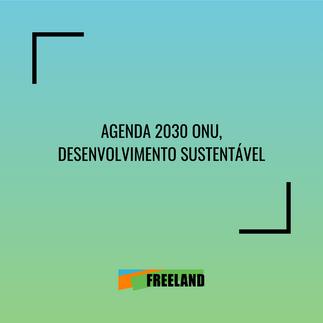 AGENDA 2030 ONU, DESENVOLVIMENTO SUSTENTÁVEL
