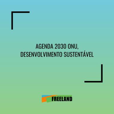 AGENDA DE LA ONU 2030, DESARROLLO SOSTENIBLE