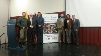 REGIONAL CONFERENCE ON COOPERATION TO COMBAT WILDLIFE TRAFFICKING IN SOUTH AMERICA, IN BOGOTA, COLOMBIA