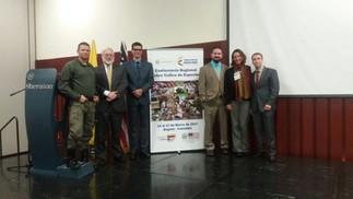 CONFERENCIA REGIONAL DE COOPERACIÓN PARA COMBATIR EL TRÁFICO DE VIDA SILVESTRE EN SUDAMÉRICA, EN BOGOTÁ, COLOMBIA