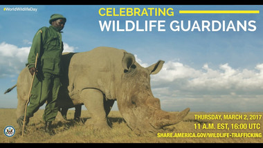 """CONFERENCIA """"HONORING THOSE WHO PROTECT WILDLIFE"""""""