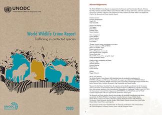 UNODC WORLD WILDLIFE CRIME REPORT 2020