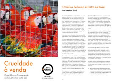 WAP PROTECCIÓN MUNDIAL DE ANIMALES: EL ANIMAL SALVAJE NO ES MASCOTA