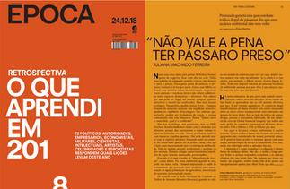 REPORT ON ÉPOCA MAGAZINE, RETROSPECTIVE 2018