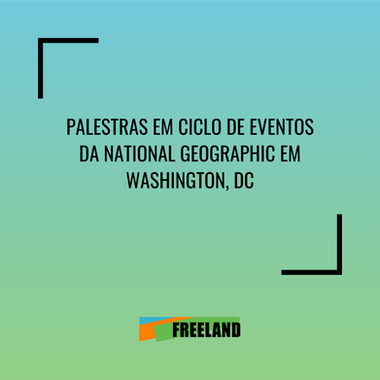 CICLO DE PRESENTACIONES EN EVENTO DE LA NATIONAL GEOGRAPHIC EN WASHINGTON, DC
