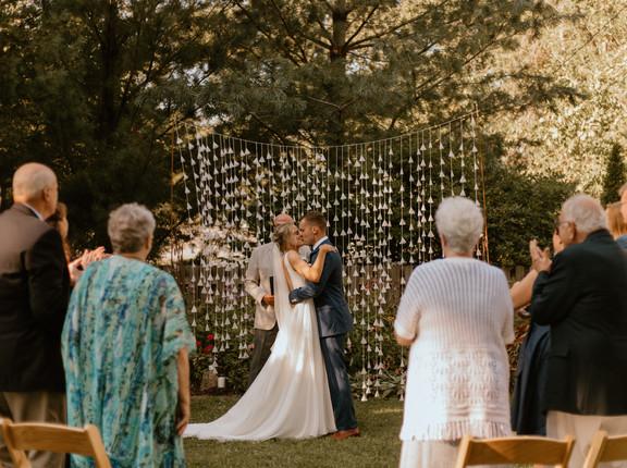 Caitlin+Coale Cooper | Iowa City, Iowa | Micro Wedding