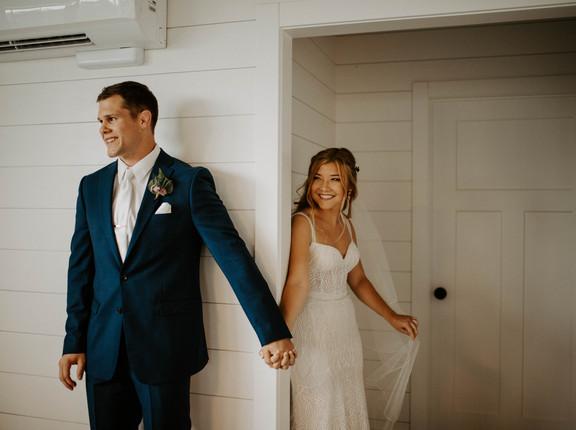 Nate + Steph's Romantic Summer Wedding | Walker Homestead, Iowa City