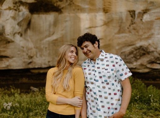 Jessica and Luke | Ledges Engagement Session | Iowa