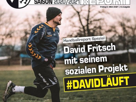 Handballreport-Spezial: David Fritsch mit seinem sozialen Projekt