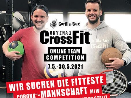 Willkommen zur Gorilla-Box online Team Competition!