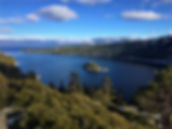 Fannette Island senic viewpoint near Vikingsolm. Book a private SUV tour to Lake Tahoe at www.LandsEndTourCompany.com