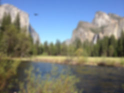 Yosemite Valley View El Capitan, Merced River & Bridalveil Fall  by Land's End Tour Company - The Best Custom Private SUV Tours From San Francisco - www.LandsEndTourCompany.com/Yosemite