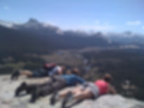 Looking over the edge of Lembert Dome in Yosemite's Tuolumne Meadows. Book a Yosemite high country private tour at www.LandsEndTourCompany.com