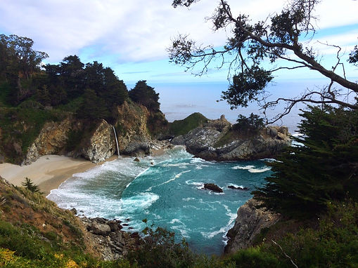 McWay Fall Big Sur Highway 1 PCH Pacific Coast Highway by Land's End Tour Company - The Best Custom Private SUV Tours From San Francisco