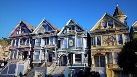 Queen Anne Victorian Homes in San Francisco
