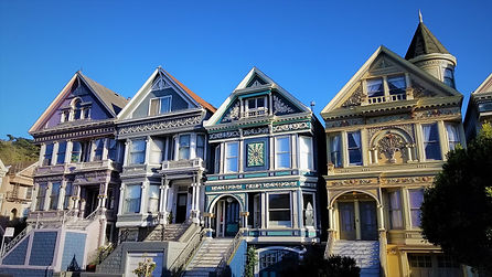 Queen Anne Victorian Homes in San Francisco