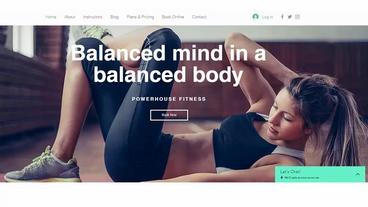 Gym Website Development Digital Marketin