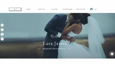 Wedding Photography Website Development