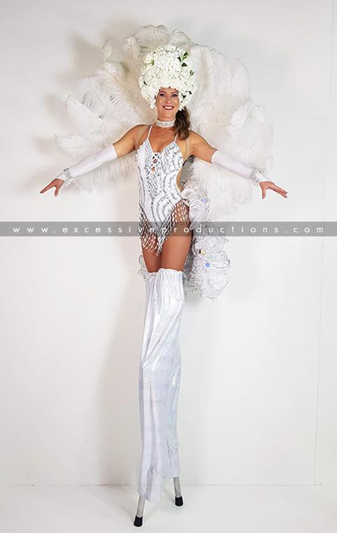 White Roses Showgirl